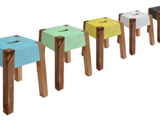 STORM FELLED BEECH STOOL:   by Jam Furniture