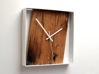 RECLAIMED FRENCH OAK WALL CLOCK Jam Furniture SalasAccesorios y decoración