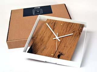 RECLAIMED FRENCH OAK WALL CLOCK Jam Furniture Oficinas y tiendas