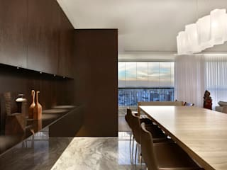 Modern Dining Room by Jaqueline Frauches Arquitetura e Interiores Modern