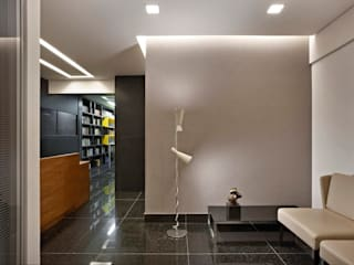 Modern Study Room and Home Office by Jaqueline Frauches Arquitetura e Interiores Modern