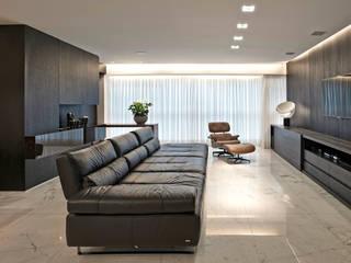 Modern Living Room by Jaqueline Frauches Arquitetura e Interiores Modern