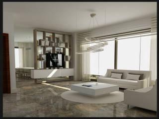 Archidecors – Oturma Odası: modern tarz Oturma Odası
