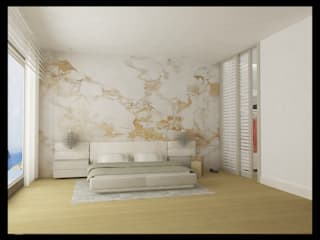 Archidecors – Yatak odası: modern tarz Yatak Odası