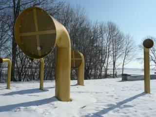 Elbuferpark Riesa:   von REHWALDTLANDSCHAFTSARCHITEKTEN