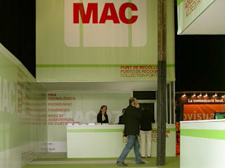 MAC / Environmental Design: Ferias de estilo  de KXdesigners