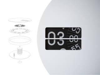 Wall Clock de studio deFORM Moderno