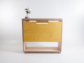 Drop-Leaf Tablet Desk: minimalist  by Bee9, Minimalist