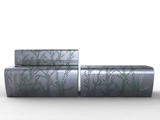 Berta Bench / Furniture:  de estilo  de KXdesigners