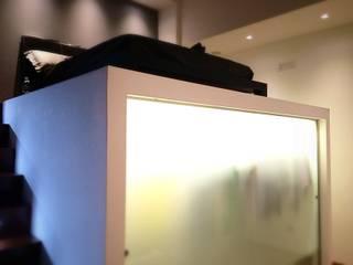 CASA SR Camera da letto moderna di Nau Architetti Moderno