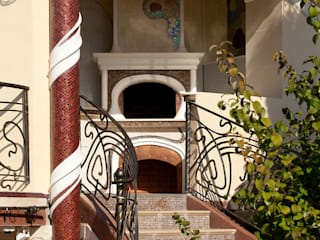 Casas modernas de Архитектурное бюро и дизайн студия 'Линия 8' Moderno