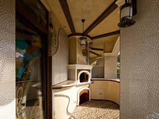 Дом в стиле модерн Дома в стиле модерн от Архитектурное бюро и дизайн студия 'Линия 8' Модерн