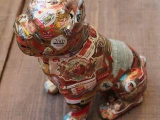 bouledogue:  de style  par b2ccreation décoration