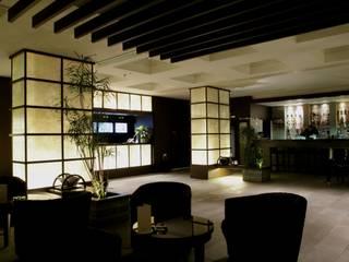 SAYEN International Hotel (Russia/Irkutsk) Гостиницы в стиле модерн от Shigeo Nakamura Design Office Модерн