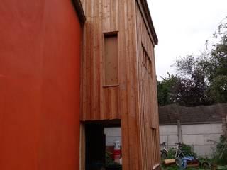 Extension en structure bois d'une maison individuelle. par Architecte DPLG