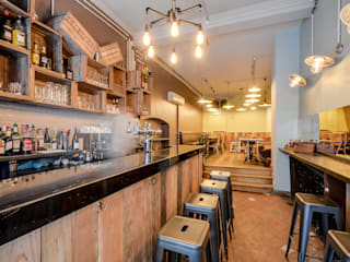Industrial style gastronomy by blackStones Industrial