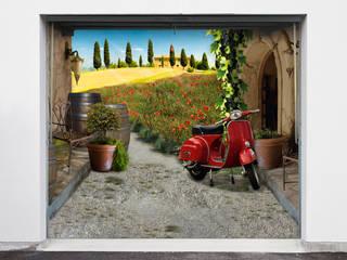"""Garagenplane  """"Bella Italia"""":  Garage/Schuppen von Style-Your-Garage.com"""