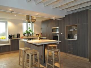 projet cuisine: Cuisine de style de style Moderne par  Architecte d'Intérieur Paul Jourdain CFAI