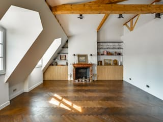Industrial style living room by blackStones Industrial