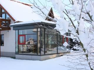 Wähner GmbH Modern style conservatory