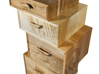 The Heeley Magnetic Stack por Radiance Furniture Design Moderno