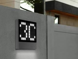 Trend Aydınlatma / Kazancı Aydınlatma – Lottery Ledli Kapı Önü Aplik:  tarz Balkon, Veranda & Teras