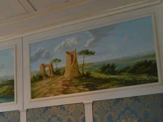 пейзажная роспись: Столовые комнаты в . Автор – Абрикос