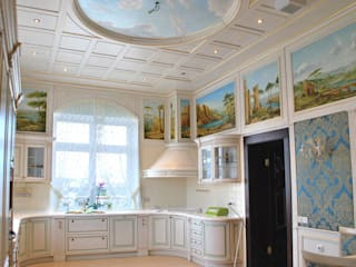 Classic style dining room by Абрикос Classic