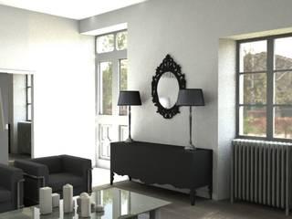 Modern Living Room by AGENCE GAEL DEVINCK Modern