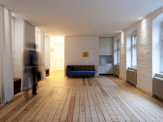 yogaloft Minimalistische Arbeitszimmer von spreeformat architekten GmbH Minimalistisch