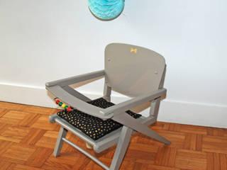 Adèle, une petite chaise pot vintage:  de style  par Mademoiselle Minouchette