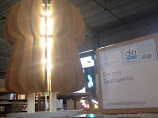 """Cork...l'eco-lamp""  ..illumina, arreda, ispira..:  in stile  di Stefania Spaccavento"