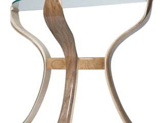 The Byrne Console Flower Table de Radiance Furniture Design Ecléctico