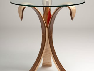 The Bloomin' Lovely Flower Table No2 de Radiance Furniture Design Moderno