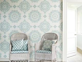 GP&J Bakers wallpaper: scandinavian  by Mister Smith Interiors, Scandinavian