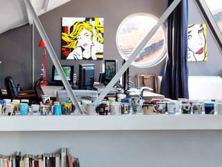 Loft in zona Savona a Milano Studio moderno di Studio fase Moderno