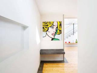 Loft in zona Savona a Milano Ingresso, Corridoio & Scale in stile moderno di Studio fase Moderno