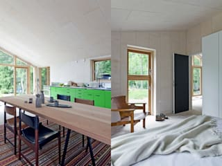 Home In The Woods Kamar Mandi Modern Oleh Facit Homes Modern