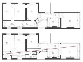 Appartement haussmannien:  de style  par Atelier VVD