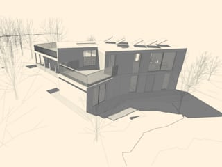 Forest Home Maisons modernes par Facit Homes Moderne