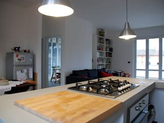 Cocinas de estilo minimalista de andrea nicolini architetto Minimalista