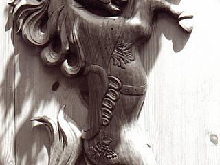 ARKATZA- Cheval en poirier:  de style  par ARKATZA