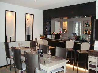 vue de la salle 01: Restaurants de style  par BARONBARON