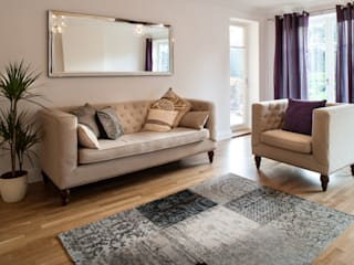 Show flat in Ascot, UK Lujansphotography Modern living room