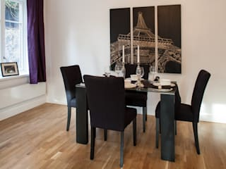 Show flat in Ascot, UK Modern dining room by Lujansphotography Modern