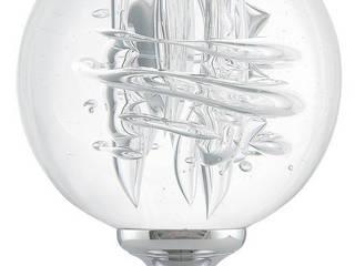 Boule d'escalier collection Tube de bulles par Les Verreries de Bréhat Moderne