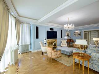 New classic Гостиная в классическом стиле от Omela Классический