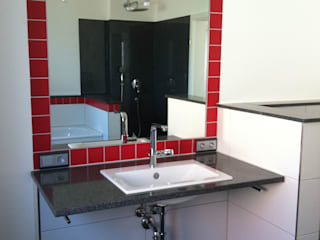 Waschtisch im Bad:   von Architekturbüro Beier