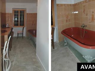 Salle de bains existante: Salle de bains de style  par ARMOR ARCHITECTURE ASSOCIES