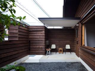 Jardines de estilo  por 設計組織DNA , Moderno